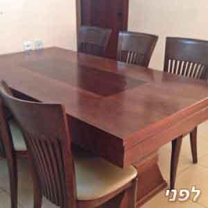 צביעת רהיטים בתל אביב לפני